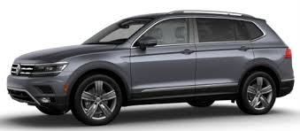 what colors can you get the 2018 vw tiguan in