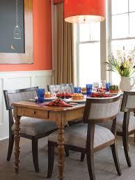 Orange Dining Room Orange Dining Room Room Room With Orange Interior Designs