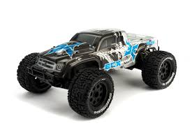 monster jam remote control trucks used ecx ruckus 1 10 electric rc monster truck u2013 2 wheel drive