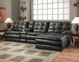 Furniture Sectional Sofas Small Sectional Sofa With Recliner Foter