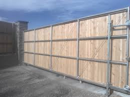 solid sliding wooden fence gate fence ideas best ideas of