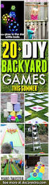20 insanely fun diy backyard games perfect for summer diy