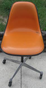 Herman Miller Padded Blue Vintage Chair Bopfish Swimmin U0027 In The Vintage Stream Eames Upholstered Shell