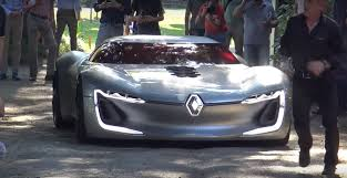renault supercar renault trezor drives through 2017 villa d u0027este is declared the