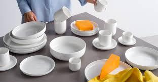 leah porcelain set of 4 mugs made com