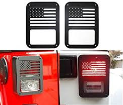 jeep wrangler light covers amazon com sunluway 2 x l light cover trim guards