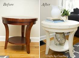 chalk paint coffee table easy side table makeover fun with chalk paint chalk paint small