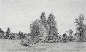 drawn landscape famous landscape pencil and in color drawn