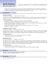 Comprehensive Resume Sample Format by Medical Sales Resume Sample Free Resume Example And Writing Download