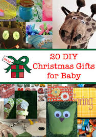 20 diy christmas gifts to make for baby