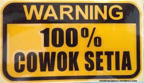 100 cowok setia stickergraphic