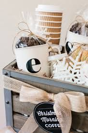 how to make a coffee gift basket the tomkat studio blog