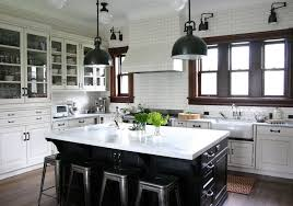 kitchen pass through rustic with brown counter stools single ovens