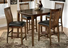tucker furniture stuman counter height dining table w 4 chairs