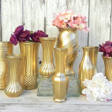 metallic gold vase collection gold vases from glasscastle2 on
