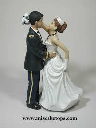wedding cake topper navy officer wedding o