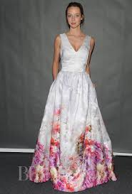 multi color wedding dress multi colored wedding gowns with tons of personality