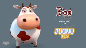 funny cow video for children jugnu kids youtube