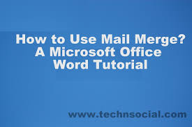 office 2013 mail merge technsocial technology and social media how to do guide how to