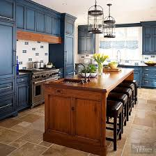 blue kitchen island cabinets these design ideas show you how to add interest to a kitchen