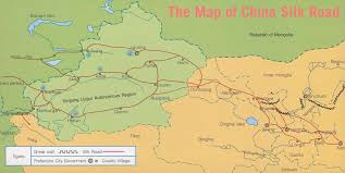 Map Of The Great Wall Of China by Silk Road Maps Silk Road Routes Where Is The Silk Road China