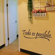 Decoration Kids Wall Decals Home by Compare Prices On Todo Spanish Online Shopping Buy Low Price Todo