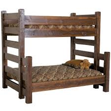 Barnwood Bunk Beds Timberwood Barnwood Bunk Bed