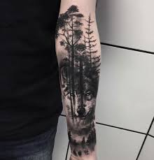 80 ridiculously cool tattoos for janus wolf and woods