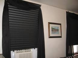 Stick On Blackout Blinds Redi Shade Black Out Paper Window Shade 36 In W X 72 In L 4
