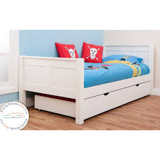 Stompa Classic Bunk Bed Stompa Classic White Single Bed