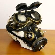 gas mask costume steunk gas mask and goggle combo skilltree nz