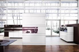 Poggenpohl Kitchen Cabinets White Kitchen Design With Wooden Back Walls Artesio By