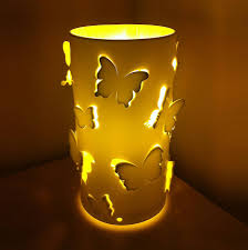 Yellow Table Lamp Butterfly Table Lamp By Kirsty Shaw Notonthehighstreet Com