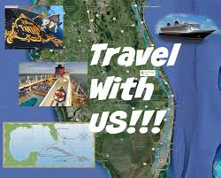 Port Canaveral Florida Map by Our Drive To Port Canaveral Youtube