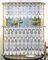 medallion macrame curtains and valances by lorraine home fashions