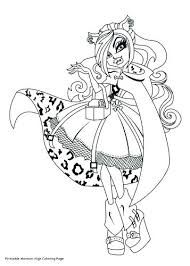 coloring pages printable for free monster high coloring pages printable free monster high coloring