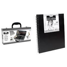 royal u0026 langnickel essentials sketch box set with sketchbook