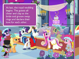 mlp wedding castle my pony a canterlot wedding geeks with juniors