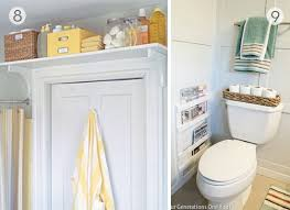 roundup 9 diy bathroom organization and storage ideas curbly