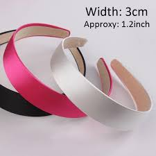 wholesale headbands 30mm hair satin hair accessories tiara wholesale satin