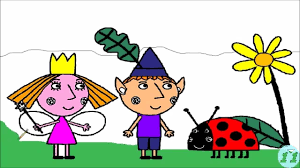 ben and holly colouring pages ben and holly coloring pages