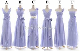 chic bridesmaid dress same color but different styles bridesmaid