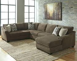 Reversible Sectional Sofas 3 Piece Modern Grey Microfiber Reversible Sectional Sofa With