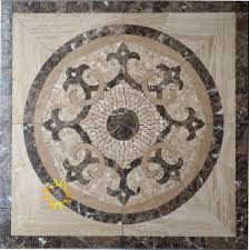 amazon com floor marble medallion mosaic tile 36 x 36 inch home
