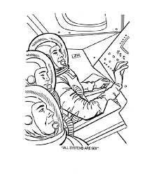 usa printables mercury space capsule coloring pages the space