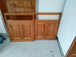 Solid Pine Kitchen Cabinets Pitch Pine Kitchen Solid Wood Cabinets And Cupboard Fronts In