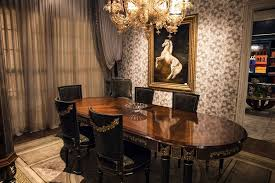 Classic Dining Room Luxury Classic Dining Room From Italian Furniture Decorations