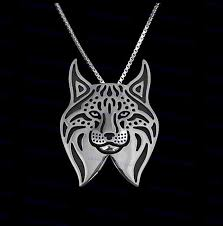 cat jewelry necklace images Factory direct sale cute cartoon lynx cat necklace new fashion jpg