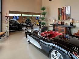 garage with cool painted floor ideas garage design ideas for