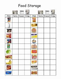 Free Independent Living Skills Worksheets Empowered By Them Food Storage Morning Folders Adaptive Food